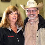 Zone 2 Show Manager Terri Dyson-Wirthlin and APHA Executive Director Billy Smith. Photo © Delores Kuhlwein