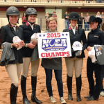 """""""This is a huge step forward for the sport of Equestrian and the numerous opportunities the NCEA offers female student-athletes,"""" NCEA President Meghan Boenig said. Photo ©  South Carolina Equestrian"""